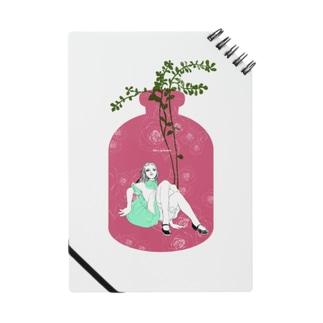 Alice in bottle rose ノート