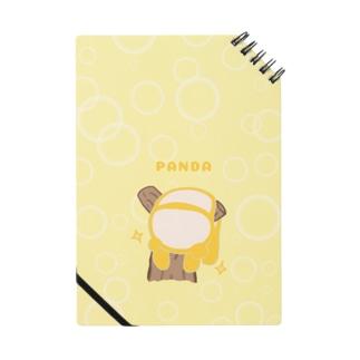 【誰がシリーズ】だらりんパンダ Notes