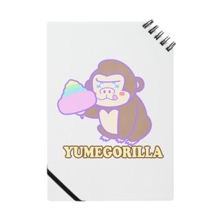 YumeGorilla(ゆめごりら)グッズ Notes