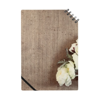 ジュート&白い花5 Notes