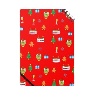 かえるさんのクリスマス(赤) Notes