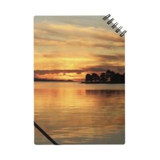 宍道湖の夕日 Notes