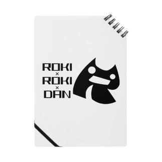悪の秘密結社ロキロキ団団員章とロゴ Notes