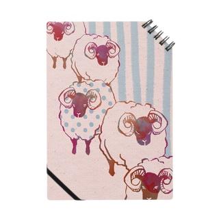 羊(ピンク) Notes