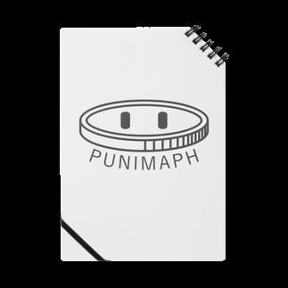 ぷに。のPunimaph ロゴ Notes