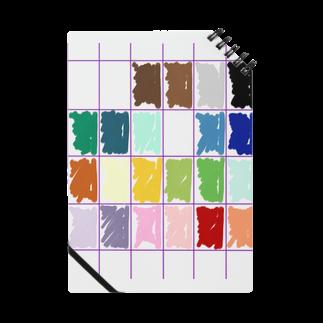 (Hiro)matchのmy pallet pattern Notes