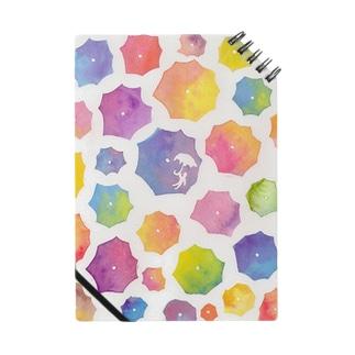 傘の花が咲いた ノート