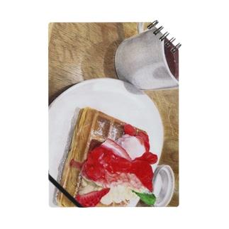 Strawberry waffle  Notes