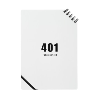 401_Unauthorized_Note Notes