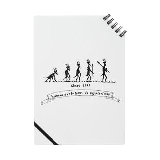 進化論。 Notes