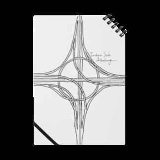 Rakushigeショップのハーフタービン型インターチェンジ Notes