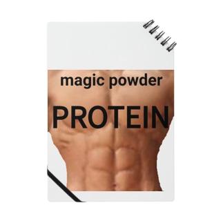 プロテインは魔法の粉 muscle Notes