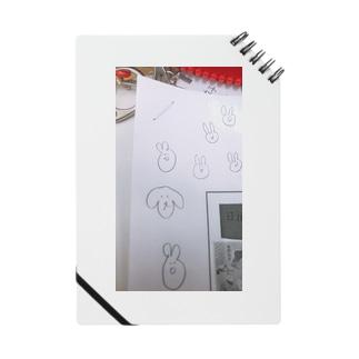 プリントの端っこスマホケース Notes