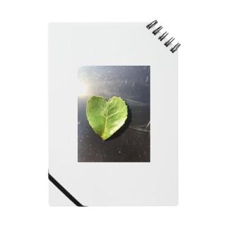 ハートの葉っぱ Notes
