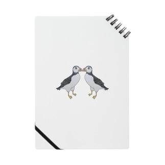 ニシツノメドリ/パフィン 求婚 Notes