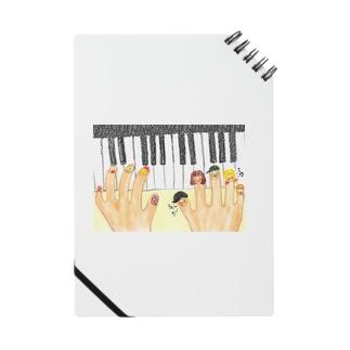 ゆびにんぎょうかぞくのピアノの発表会 Notes
