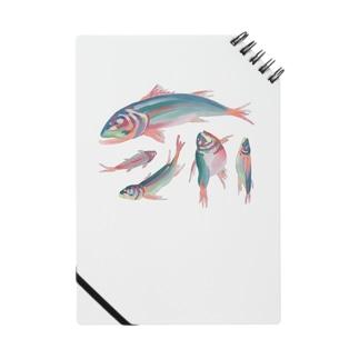 川魚抽象?半抽象。 ノート