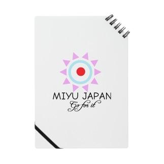 MIYU JAPAN 公式ロゴ Notes