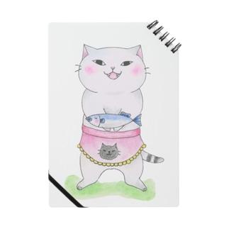 はい、どうぞ猫 Notes
