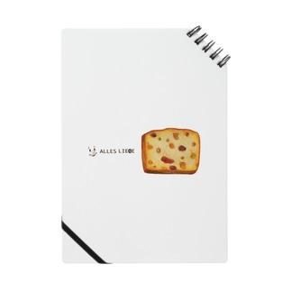 フルーツパウンドケーキ Notes