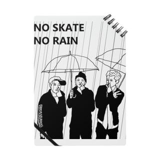 スケートボード出来ないから雨よ降るな 黒線 Notes