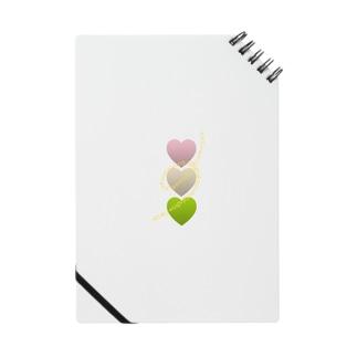 三色団子🍡&Heart Notes