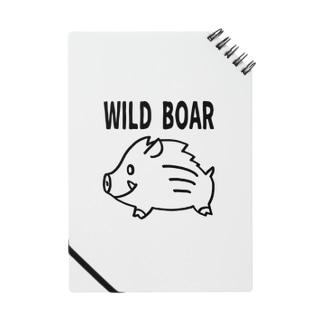 「WILD BOAR」(黒線)  Notes