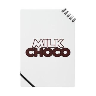 ミルクチョコロゴグッズデザインB Notes