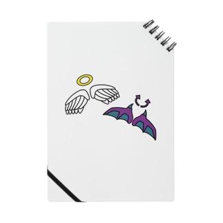 天使と悪魔グッズ Notes