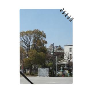 日本の仏閣:待乳山聖天が見える浅草の風景写真 Tokyo: view of Asakusa Matsuchiyama Shoden/ Japan Notes