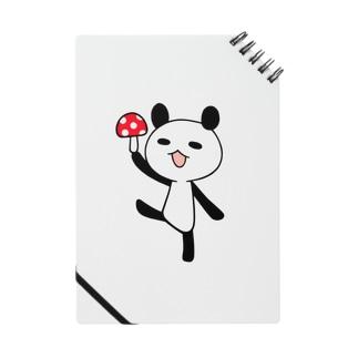 きのこパンダ Notes
