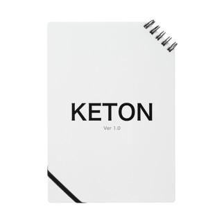 KETONのグッズ Notes