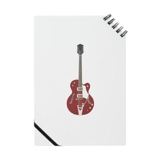 ギター レッド Notes