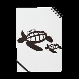 たかせ ゆづきのTurtle-Blackノート