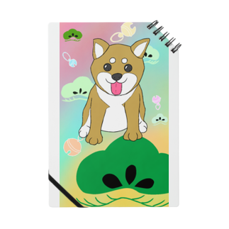 Lily bird(о´∀`о)のにこにこ柴犬 和柄② Notes