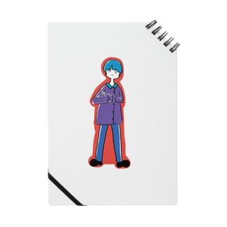 青髪くん Notes