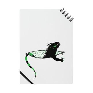 iguana in pocket Notes