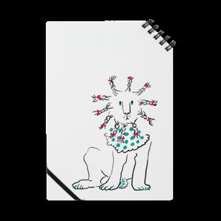 mya-mya=MIYA JUNKO's shop 02のBraided lion Notes