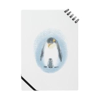 皇帝ペンギンの親子 Notes