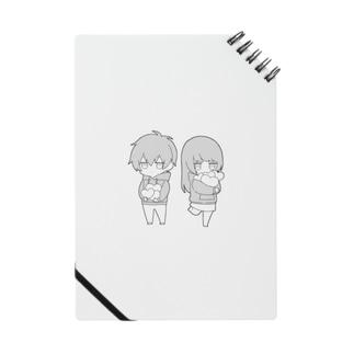 無気力カップル(白黒) Notes