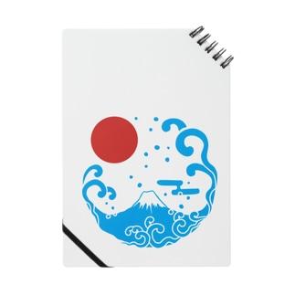 富士山・波 Notes