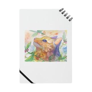 動物横顔シリーズ ヤマネコ Notes