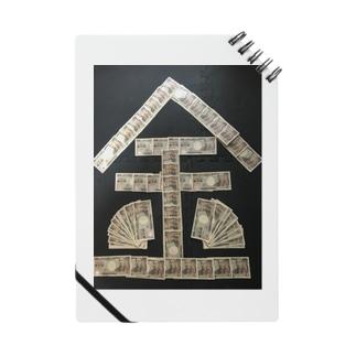 お金・札束 Notes