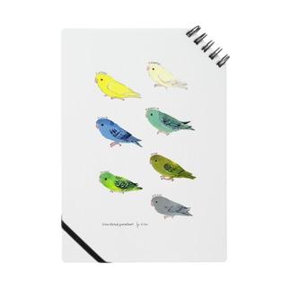 サザナミインコ 7colors ノート