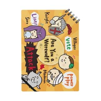 大阪人狼ラボの【元気】ゆるかわ人狼くん撤回オレンジ Notes