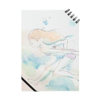 水中少女 Notes