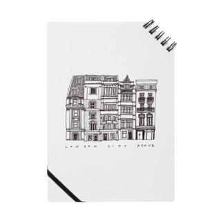 【黒線】LONDON CITY Notes