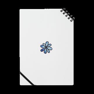 NIMORIGINALのくすんだ青い花 Notes