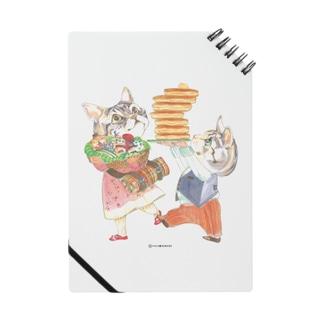 子猫とピクニック ノート