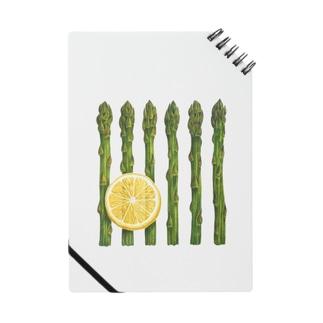 アスパラガスとレモン Notes